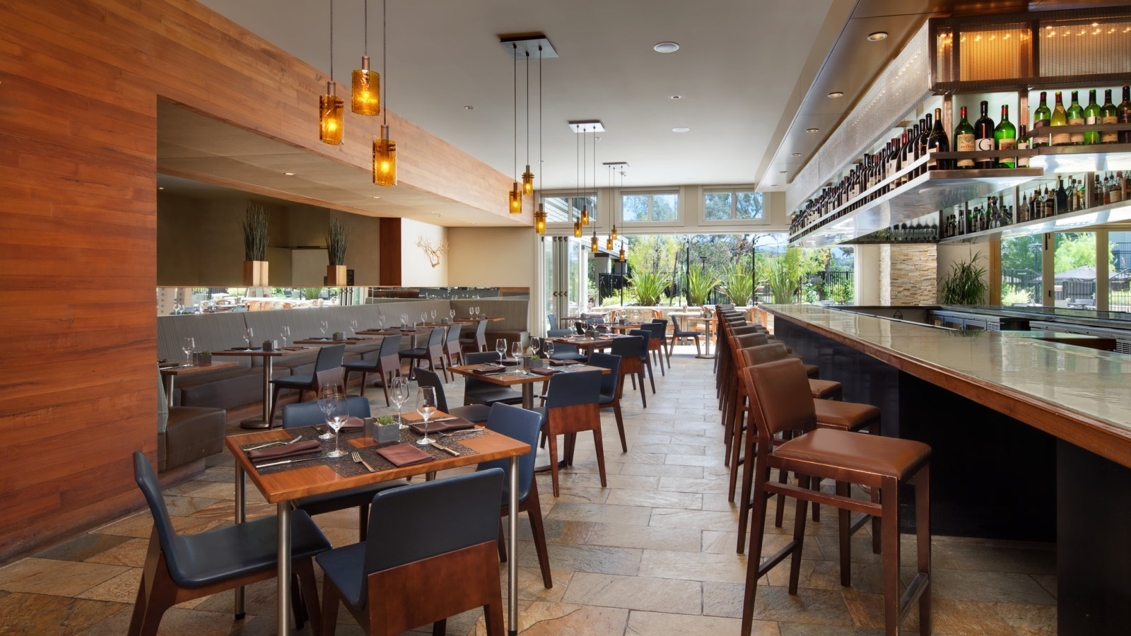 Napa Restaurants - BANK Café and Bar