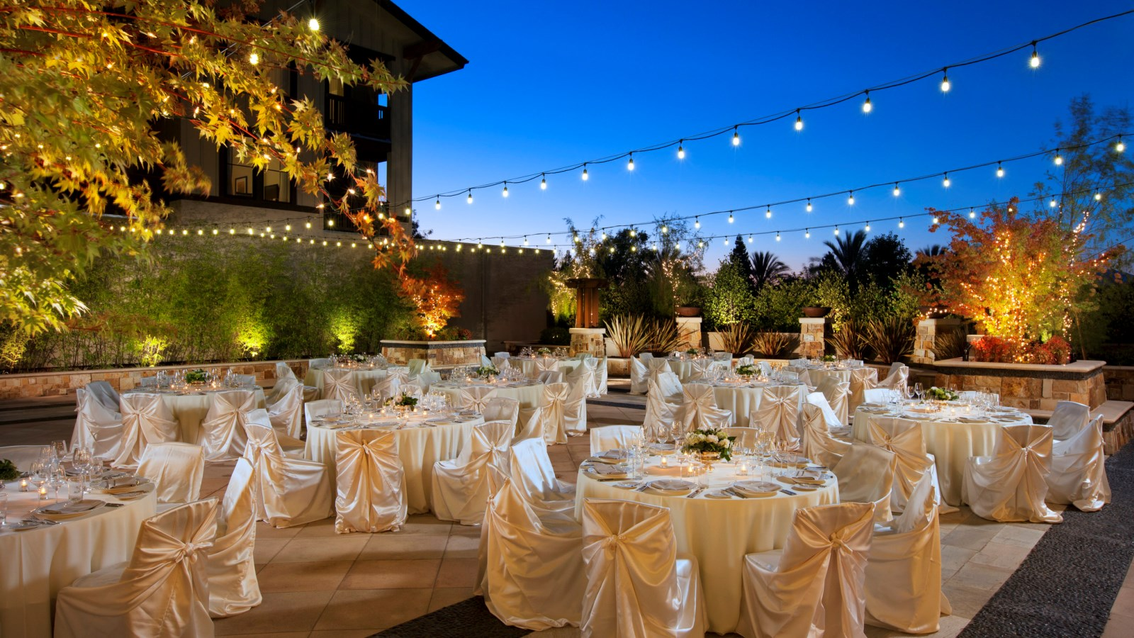 Napa Valley Wedding Venues Reception E