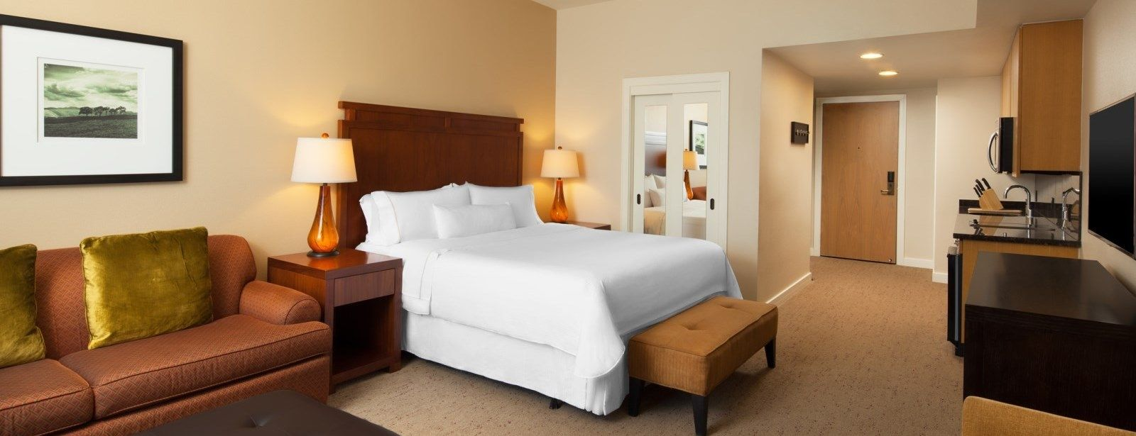 The Westin Verasa Napa Hotel - Deluxe King Rooms